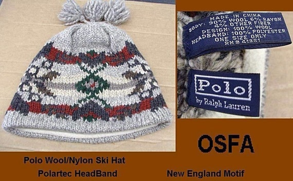 404469f29ff polo nordic adult wool watch hat cap in grey