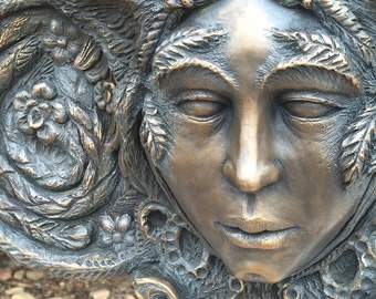 Shoshiana Listening (Bronze Sculpture)