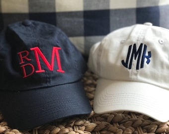 kids youth toddler monogrammed hat monogrammed baseball hat