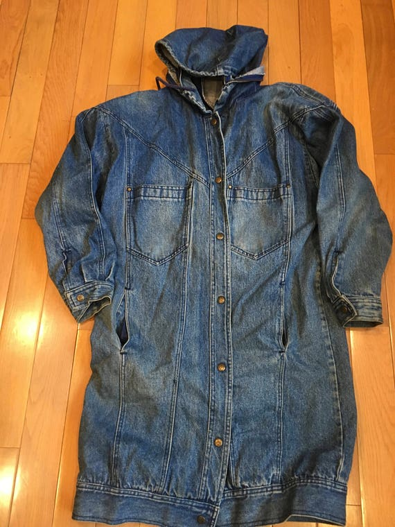 DENIM Vintage (1980s) JACKET - Andy Johns Women's