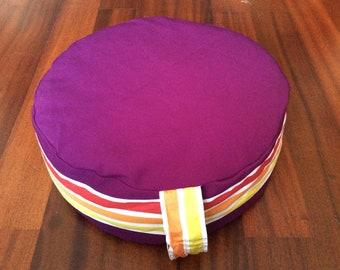 Colorful zafu - Meditation Cushion - Meditationskissen - Pillow - Meditasyon Minderi - Cojín de meditación - Meditation