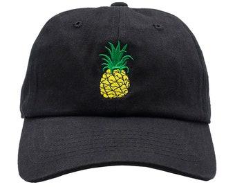 cc8a4d44c3a7f Pineapple Dad Hat - Black