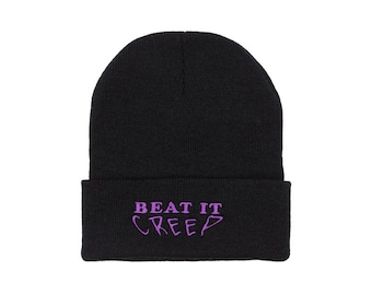 Beat It Creep Beanie - Black
