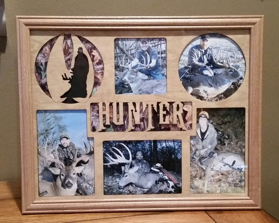 11x14 Snowmobiling Laser Engraved Picture Frame with 5 Photo Holes