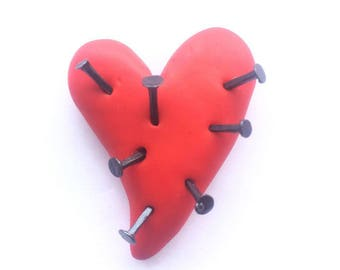 Painful Heart Magnet