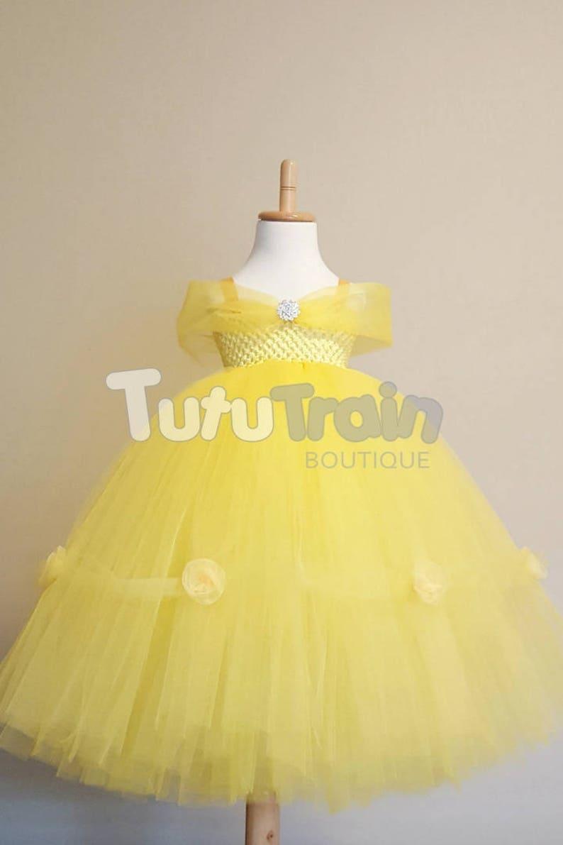 6f0b2c6587b Yellow Princess Tutu Dress Fairytale Tutu Princess Dress
