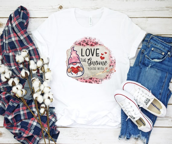 Bee Mine Cute Valentines Day Gift Idea TShirt For Her Ladies Girls Shirt Top Tee