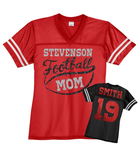 Custom Football Mom Jersey Personalized