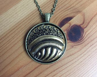 Beautiful 1930's Vintage Button Necklace