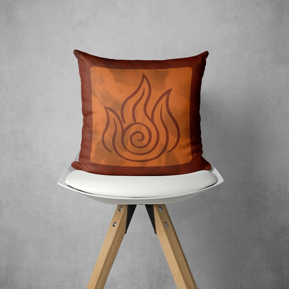 Avatar Fire Nation Symbol The Last Airbender The Legend Of Etsy