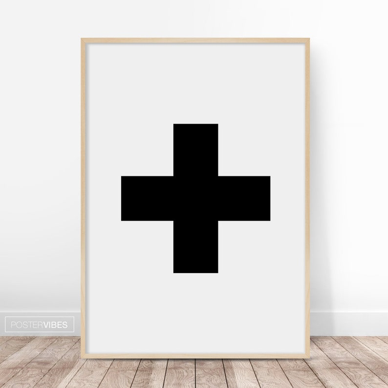 Swiss Cross Wall Art Print Best Selling Art Swiss Cross Etsy