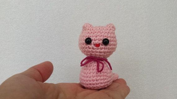 Häkeln Baby Dusche Geschenk Gefüllte Katze Kuscheltier Etsy