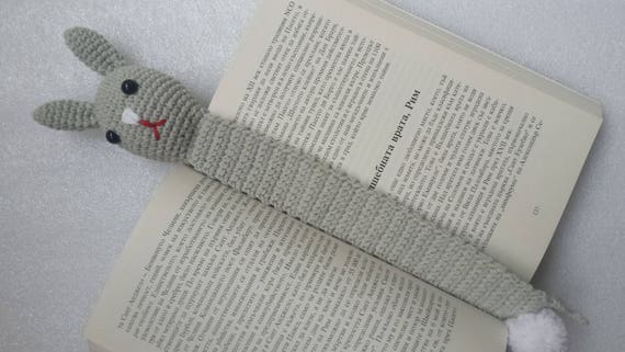 Bunny Bookmark Crochet Gift