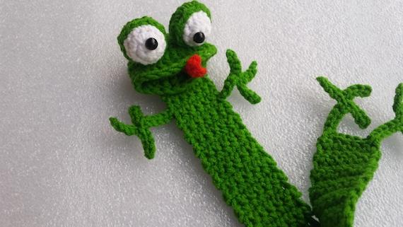 Frosch Lesezeichen Häkeln Frosch Lesezeichen Häkeln Etsy