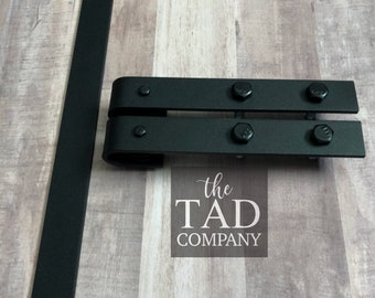 Extra Small Mini Barn Door Hardware // 2 Rollers 1 Track // Console // Home  Decor // Barn Door Hardware // Rustic Modern // Farmhouse Chic