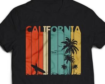 482a8644515 Vintage Retro 1970's California T-Shirt