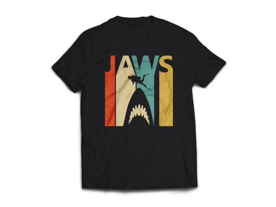 Unique Jaws Movie Unisex T-shirt - S to XXL