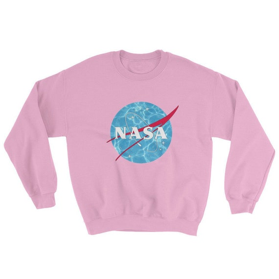 Vaporwave Aesthetic NASA logo sweatshirt vintage retro pale   Etsy 1217687be9