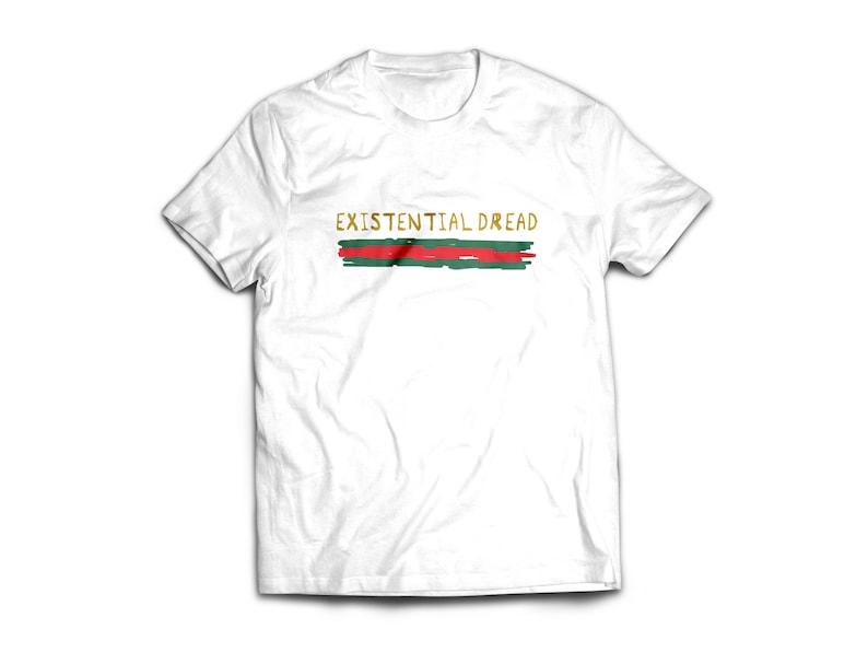 e015ca5d4eef4 EXISTENTIAL DREAD shirt women men blogger t-shirt streewear
