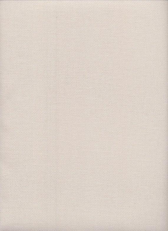 27 count Zweigart Linda Evenweave Cross Stitch Fabric FQ White 49 x 69cms