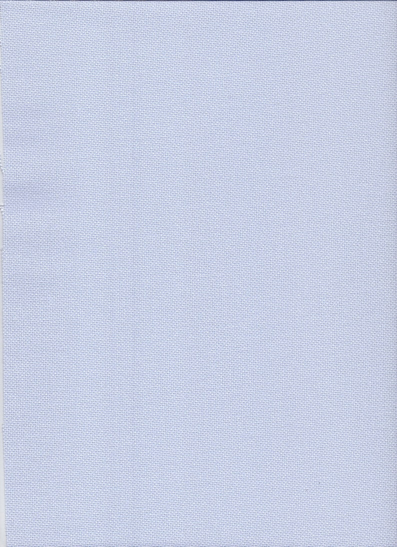 55 Count Zweigart Kingston White Linen Fabric size 49 x 89 cms