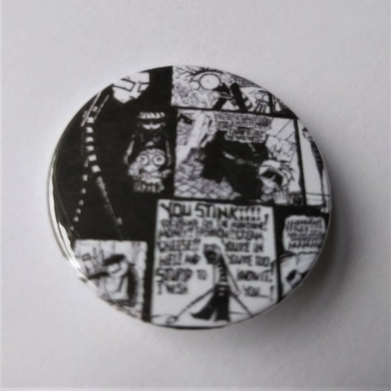 Magnet Squee 38mm Badge 25mm Johnny the Homocidal Maniac Comic