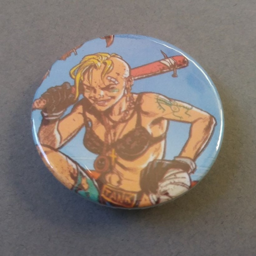 Transmetropolitan badge Graphic novel Comic book 38mm Pin back button