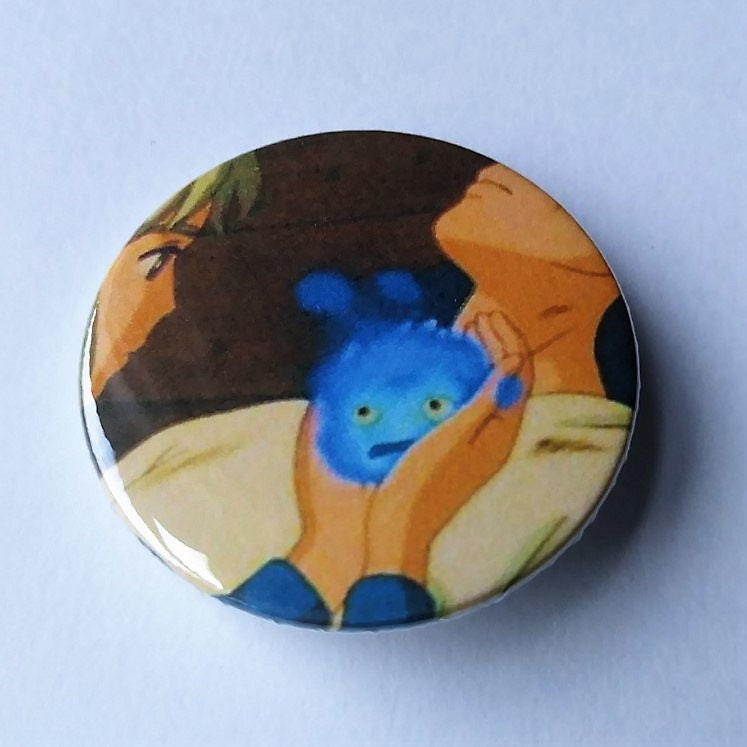 Pinback 25mm Anme Howl/'s Moving Castle Badges Button Studio Ghibli
