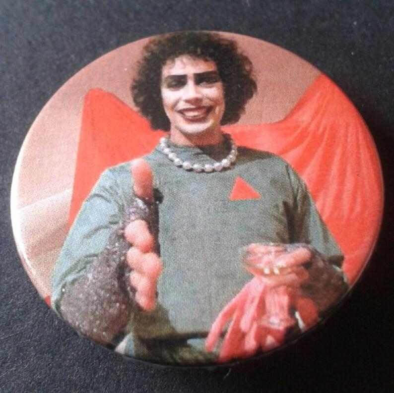 Retro film badge or fridge magnet  38mm  25mm  Blade Runner Rachel Replicant