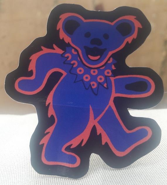 Phancy Bear Sticker Grateful Dead Dancing Bear Sticker PHiSH Sticker  Grateful Dead Sticker FREE SHIPPING