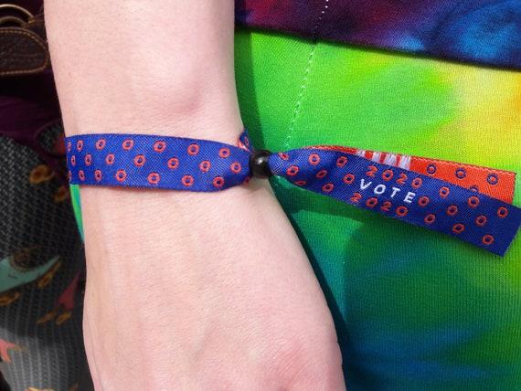 Phish Summer Tour 2020.Phish Summer Festival Phish Wristband Phish Bracelet 2020 Vote 2020 Free Shipping