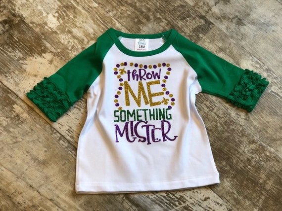 Mardi Gras Parade Outfit for Women Throw Me Something Mister Unisex Hoodie