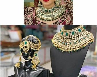 715a89d5462de Indian bridal set | Etsy
