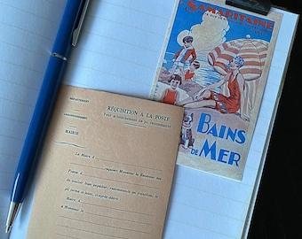 La Samaritaine Vintage style stickers, Journaling supplies, French ephemera stickers x 8