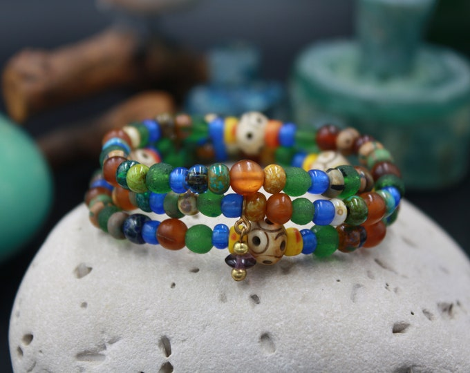 Ancient, Antique & Vintage Women's Bead Bracelet For Her- Carthage