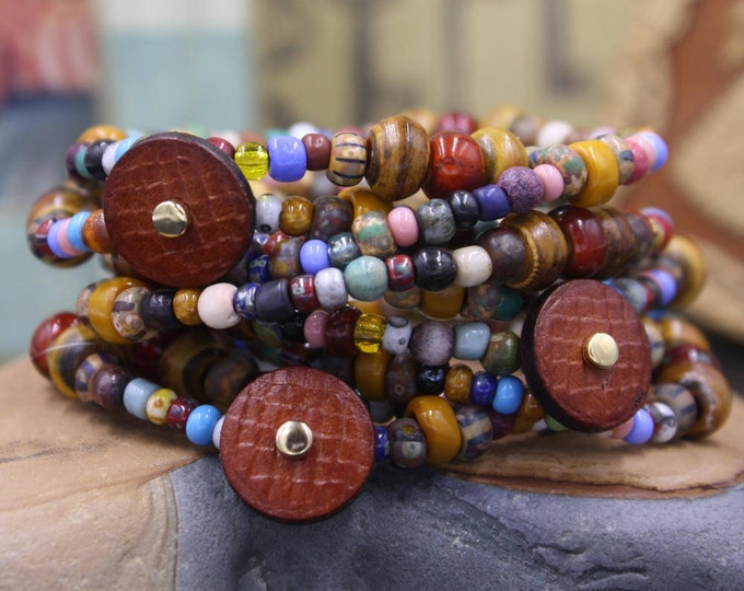 Old Town - Antique & Vintage Women's Beaded Bracelet/Gift For Her
