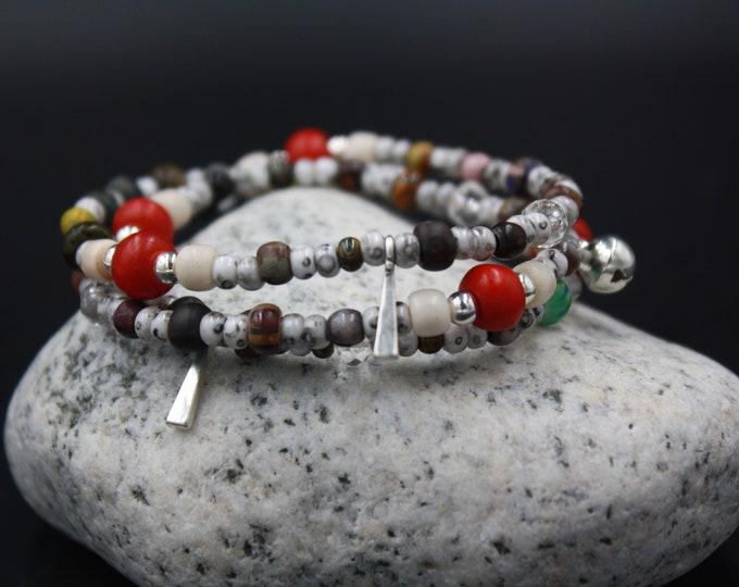 Serendipity - Antique & Vintage Women's Beaded Bracelet/Gift For Her
