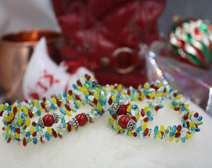 Luci Di Natale - Antique & Vintage Women's Beaded Bracelet/Gift For Her