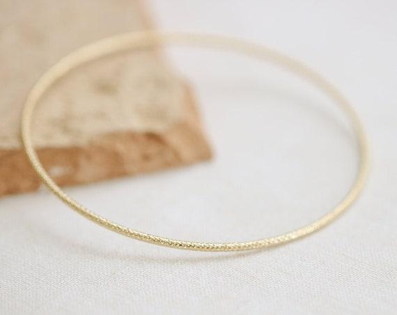Thin modern dainty cuff bracelet Romy gemstone gold plated handmade delicate bangle stacking bracelets