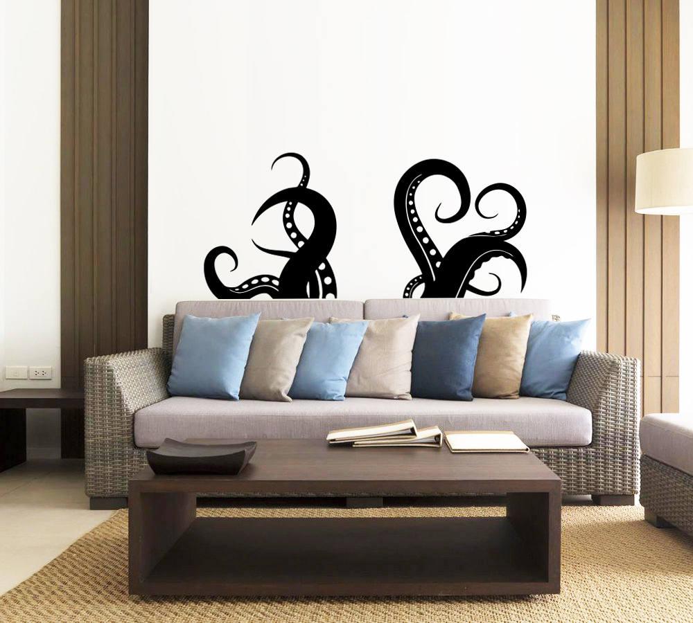 Octopus Wall Decal Tentacles Vinyl Sticker Decals Kraken