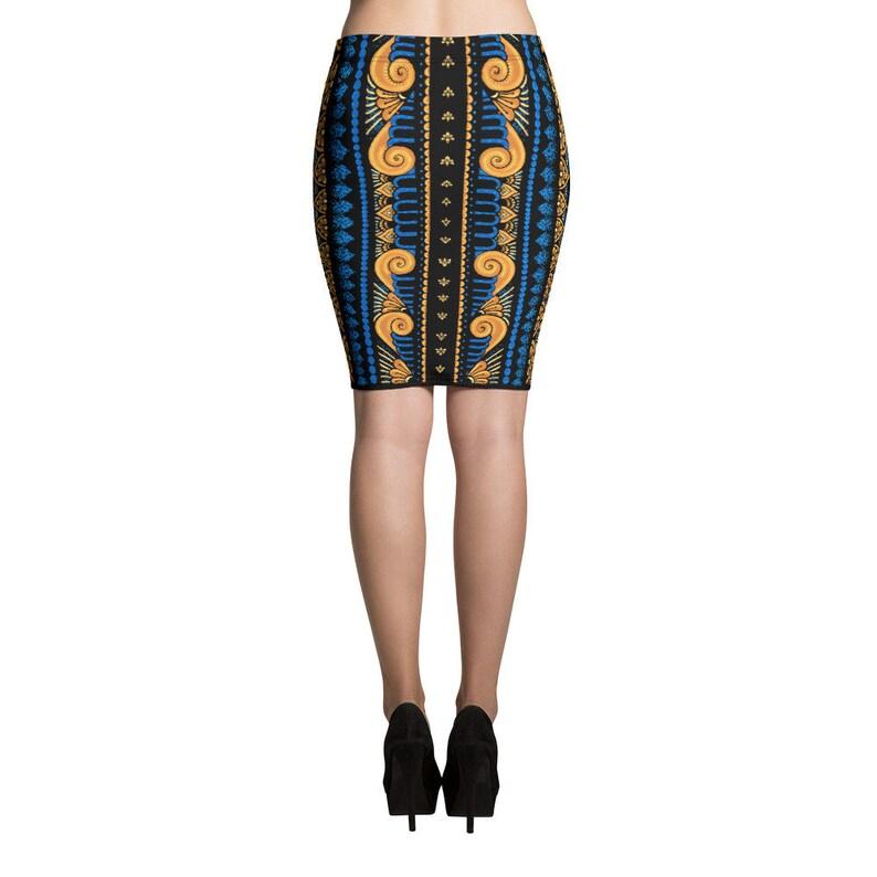 Mandala Pencil Skirt