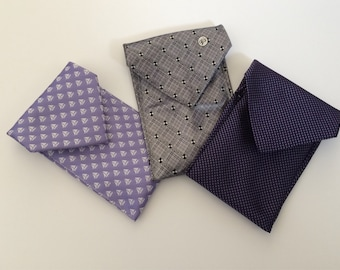 Upcycled tie phone cases - great for Father's day