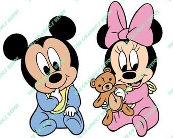 c4ef0717482 Baby minnie mickey
