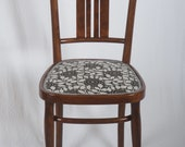 Set of Four Art Nouveau Bentwood Dining Chairs