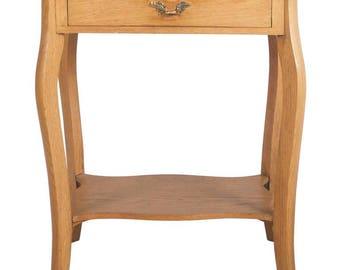 Small Oak Console Table