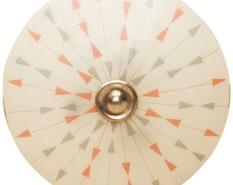 Czech Mid-Century Pendant Lamp for Brussels World Expo, 1958