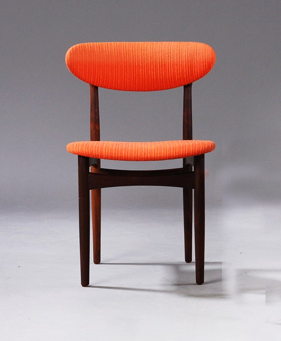Set Of Six Rosewood Dining Chairs By Scantic Furniture 1960s Etsy