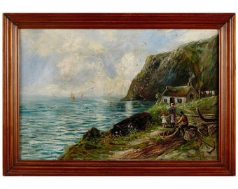 Wilton Motley Oil Painting