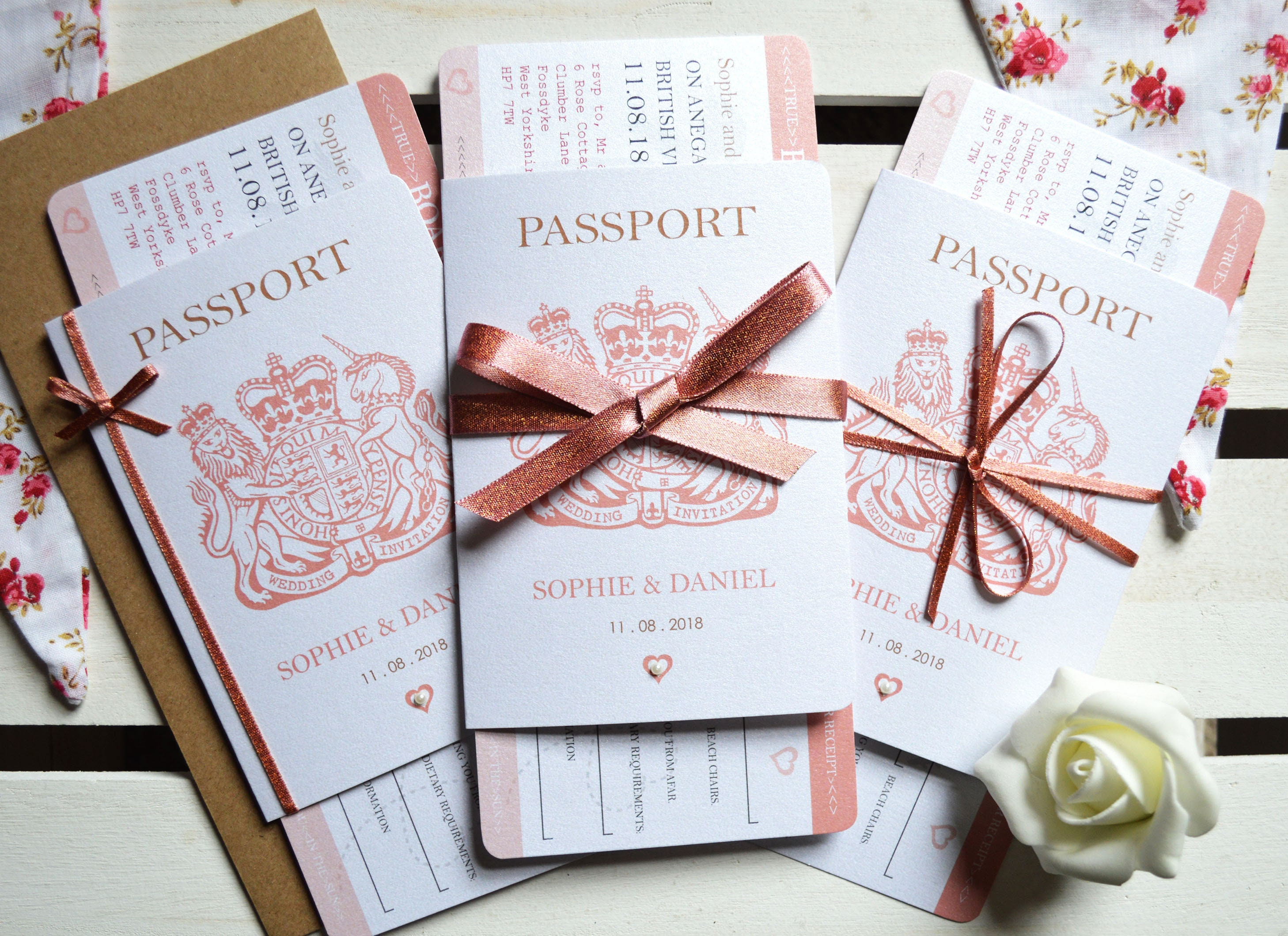 Passport Wedding Invitations Burge Bjgmc Tb Org
