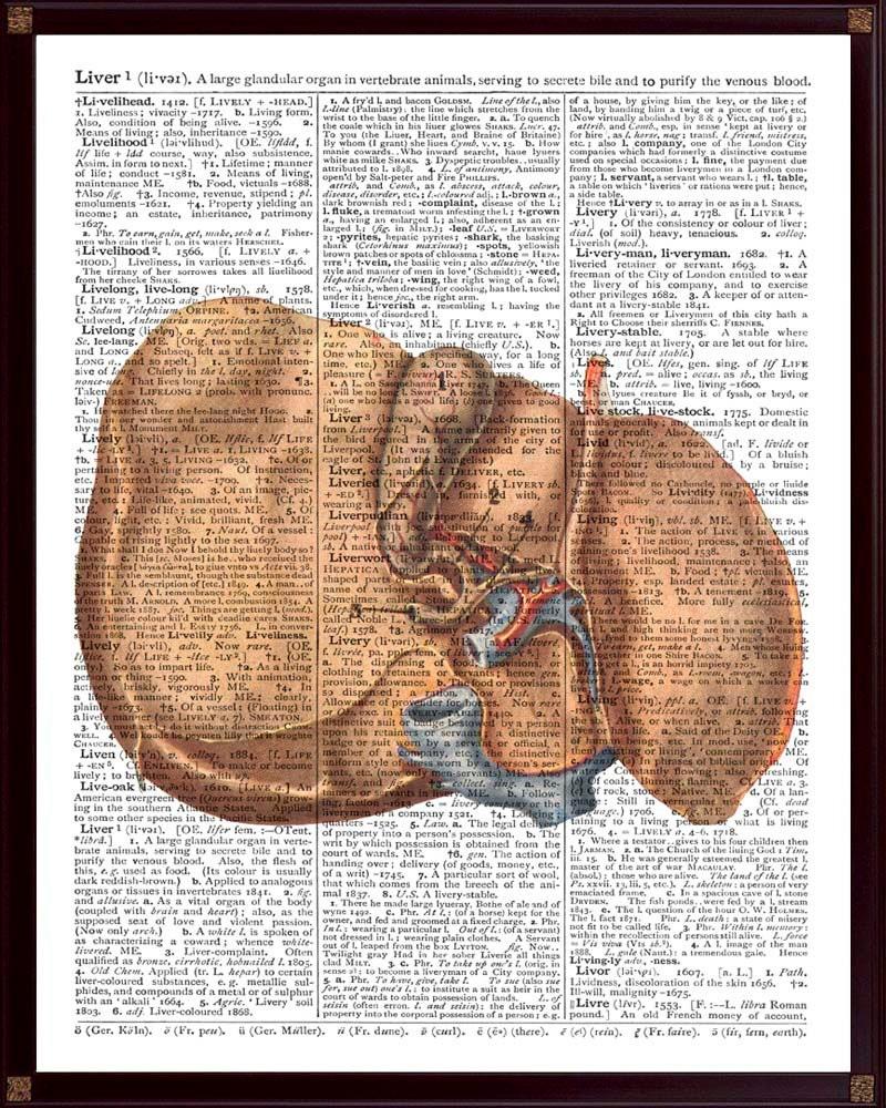 Leber Druck menschliche Anatomie Geschenk für Ärzte | Etsy